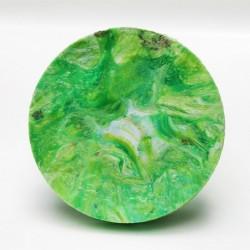 Perchero plano Verde-Blanco