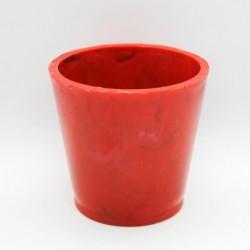 Matera para suculenta Rojo